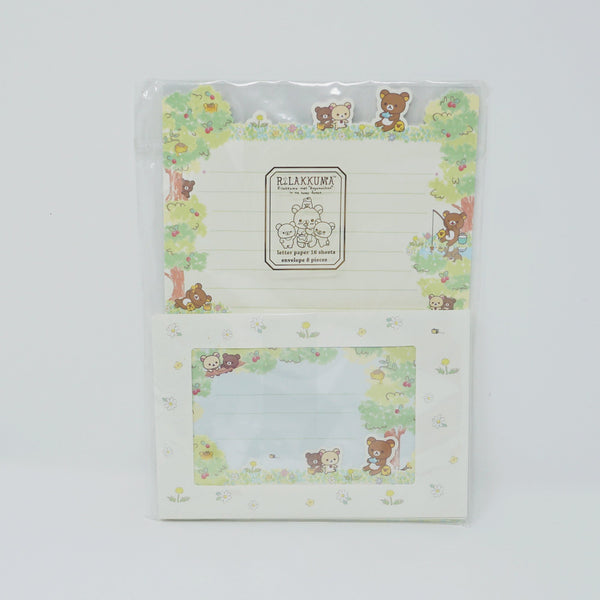 2015 Rilakkuma Honey Forest Theme Letter Set