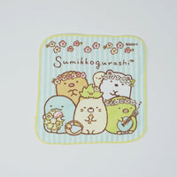 Sumikkogurashi Small Towel - Floral Design