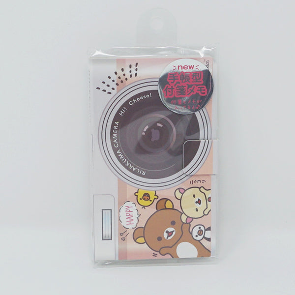 Rilakkuma Sticky Note Booklet - Camera Design