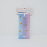 Rilakkuma Clear Pen Case - Pastel Heart Design