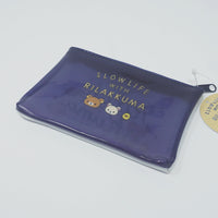 Rilakkuma Mini Clear pouch - Slow Life with Rilakkuma