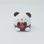 Hamipa Tenori Plush - Sitting with Apple (Eyes Closed)