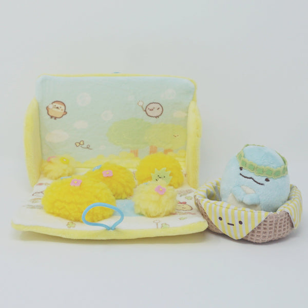 Neko Siblings - Sumikkogurashi Plush Playset