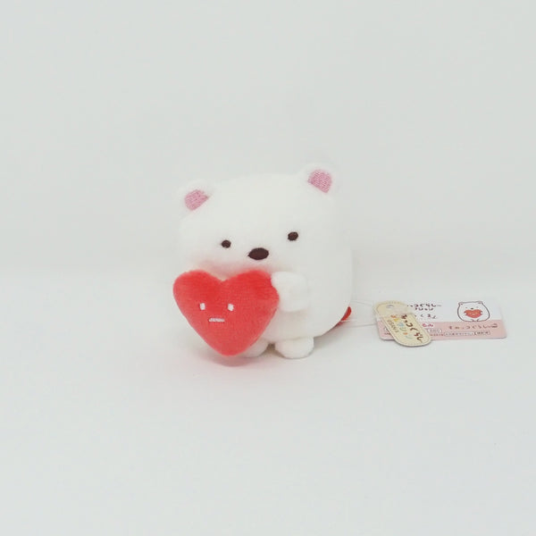 Shirokuma with Heart - Shirokuma's Handmade Plush Theme (Secondhand)