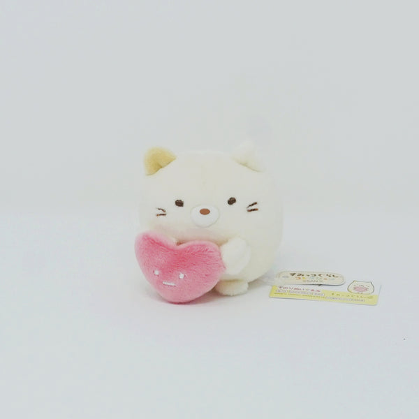 Neko with Heart - Shirokuma's Handmade Plush Theme