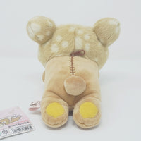 2013 Rilakkuma Plush Deer Lying (Caravan) - Happy Natural Time Theme