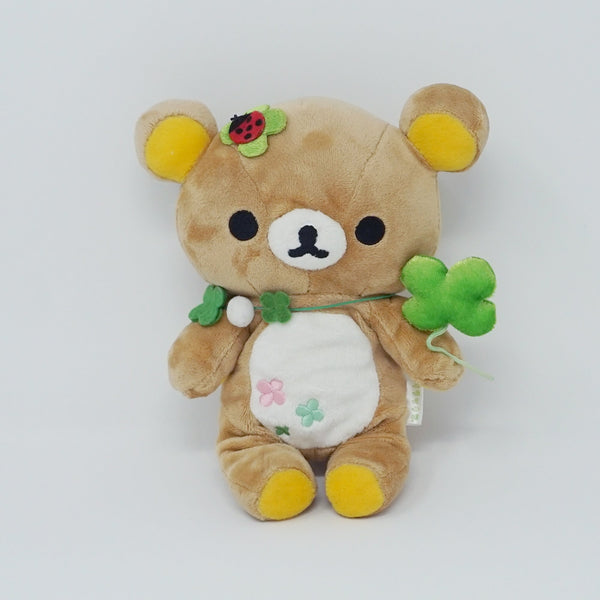 2008 Rolling Around Outside Theme Rilakkuma Clover Plush