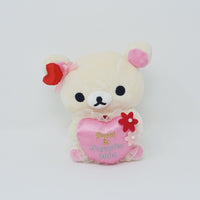 2008 Sweet & Happy Day Korilakkuma with Heart Plush