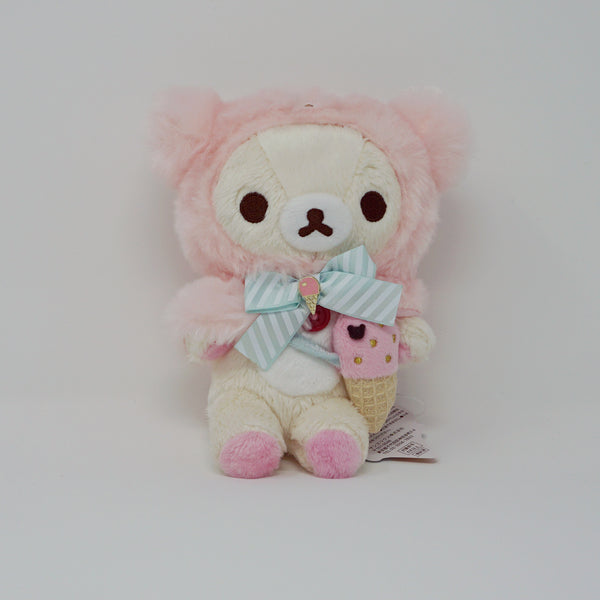 Korilakkuma (Small) Plush - Happy Ice Cream