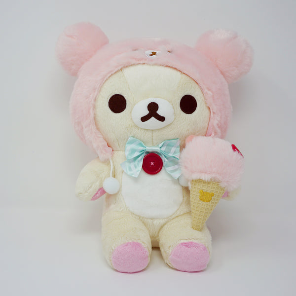 Korilakkuma (M) Plush - Happy Ice Cream