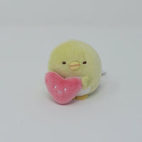 Penguin? with Heart Tenori Plush - Shirokuma's Handmade Plush