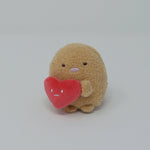 Tonkatsu with Heart Tenori Plush - Shirokuma's Handmade Plush