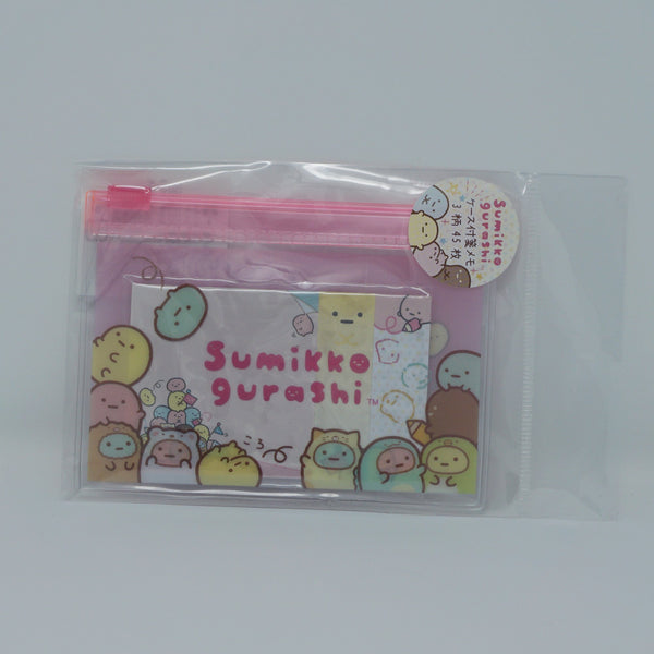 Sticky Notes with Case - A - Pink - Sumikko Tapioca Theme