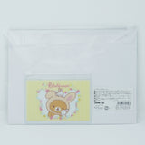 Pouch Set (Bunny Tails - White with Mini Yellow) - Rilakkuma Bunny Theme