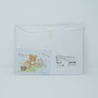 Pouch Set (Little Bunnies - Pink with Mini Clear) - Rilakkuma Bunny Theme