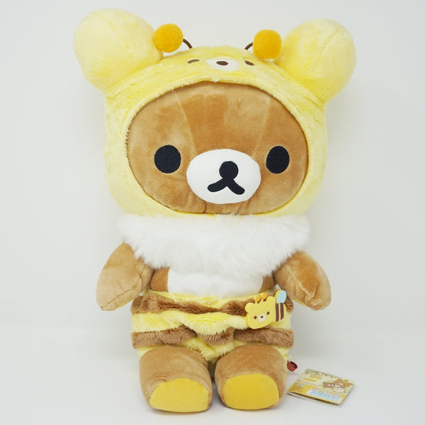 (2017) Rilakkuma in Bee Costume (M) Plush - Honey Forest Theme