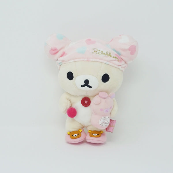 (2012) Korilakkuma with Shower Cap Plush - Bath Time Theme