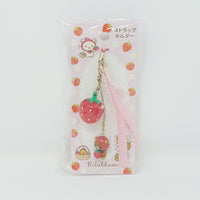 (2009) Strawberry Rilakkuma Keychain - Strawberry Theme
