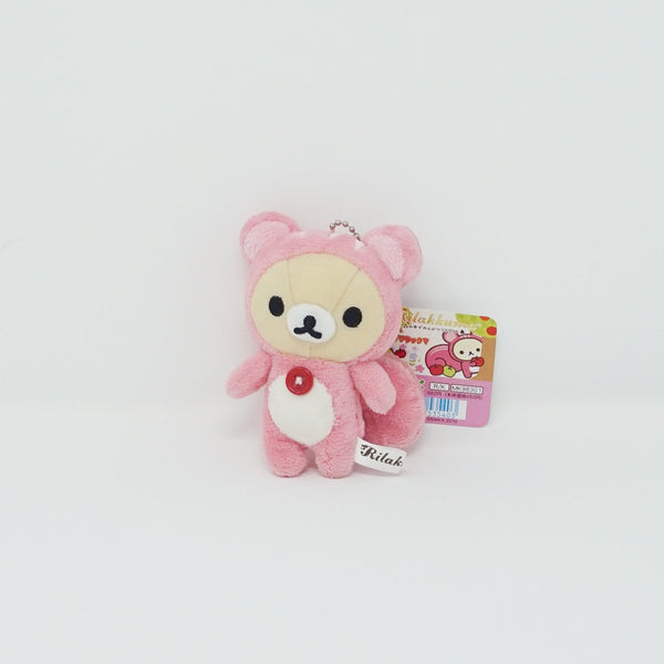 (2010) Korilakkuma Squirrel Plush Keychain - Forest Theme