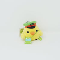 (2013) Kiiroitori Train Conductor Plush Keychain - Yamanote Line Theme