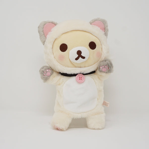 2018 Korilakkuma Cat (White) Plush Puppet - Cat Theme