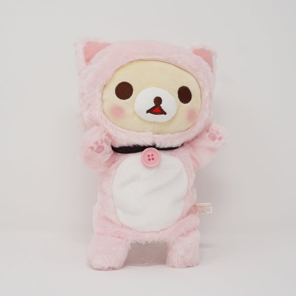 2018 Korilakkuma Cat (Pink) Plush Puppet - Cat Theme