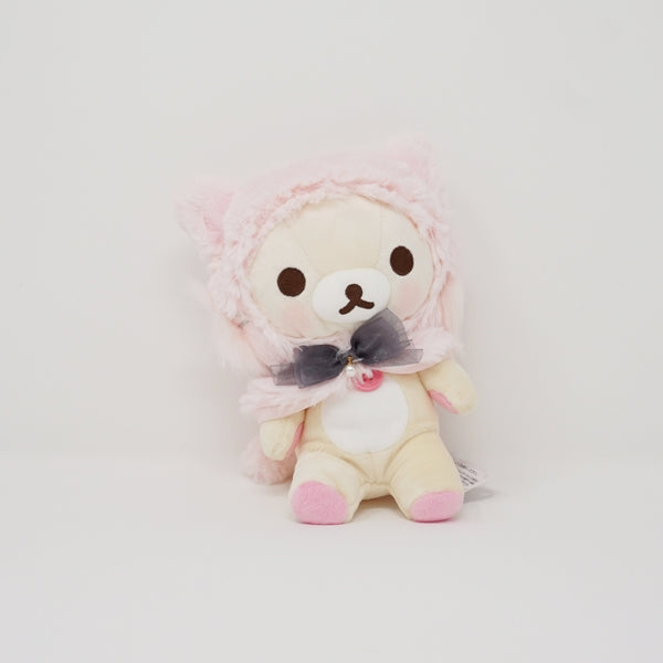 Korilakkuma Pink Cat Cape Plush - Korilakkuma Cat Theme