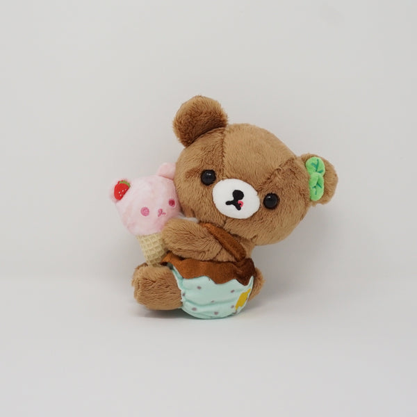 Chairoikoguma Store Limited Plush - Happy Ice Cream