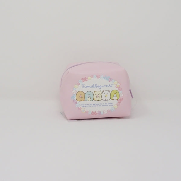 Pink Mini Zipper Pouch - Sumikko Sea (Prize Toy)