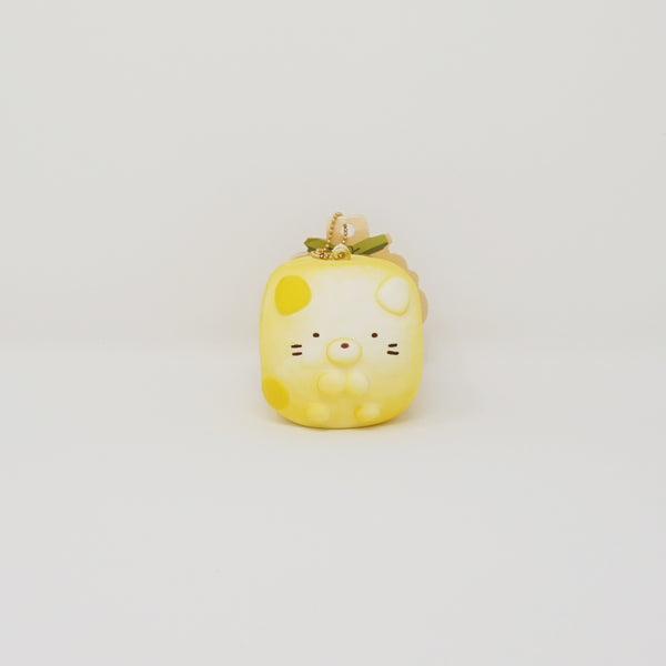 (2018) Neko Squishy Keychain - Sumikko Dinner Roll Bread