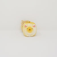 (2018) Shirokuma Squishy Keychain - Sumikko Dinner Roll Bread