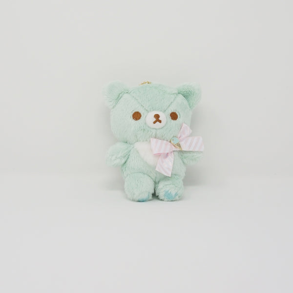 Chairoikoguma Mint Plush Keychain - Happy Ice Cream