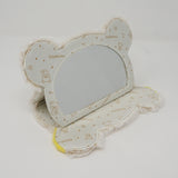 Beige Folding Mirror - Sherbet