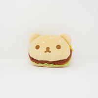 Hamburger Bun Shaped Prize Toy Pouch - Rilakkuma Hamburger