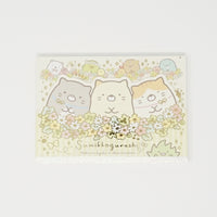 Memo Pad B. Flowers - Neko Siblings