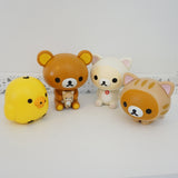 Rilakkuma Cat Theme Capchara Buildable Figures (Series 2) Capsule Characters Gashapon