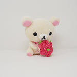 2013 Korilakkuma with Bouquet Plush - Rilakkuma Store Limited Rose Theme