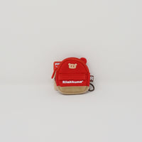 2017 Red Backpack Plush Keychain - Always Together Rilakkuma