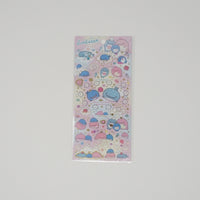 Jinbesan Stickers B. (Pink Background) - Kokujira's Dream