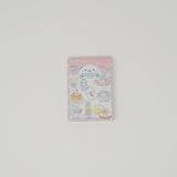 Mini Memo Pad - Mamegoma Cafe - Pink Binding