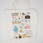 Sumikkogurashi Large Crossbody Tote Bag - Sumikko Cafe