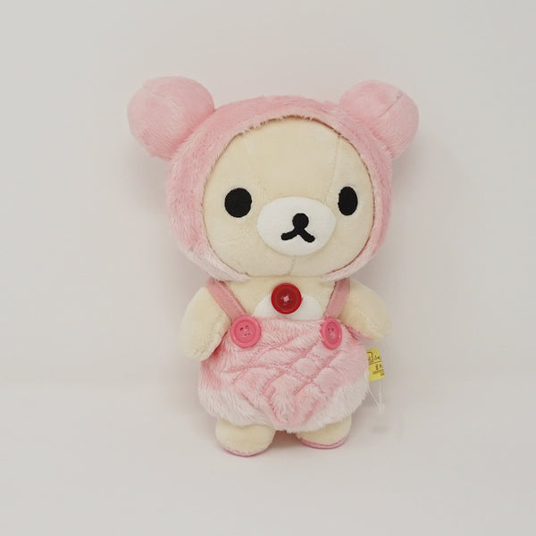 Korilakkuma Pink Bread Costume Plush - Bakery Theme