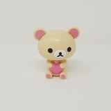 Korilakkuma with Heart Figure - Rilakkuma Capchara Buildable Figures (Series 1)