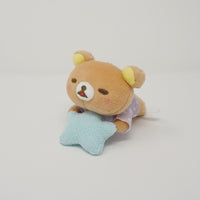 Rilakkuma with Star Plush Keychain - Rilakkuma Pajama Party