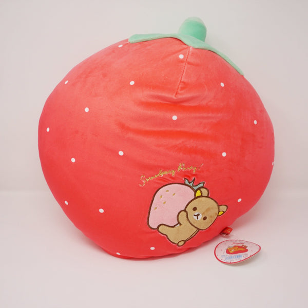 2018 Large Strawberry Cushion Pillow - Strawberry Party