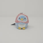 Real Penguin Pink Plush Keychain - Pen Pen Ice Cream