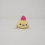 Yellow Mamegoma with Beanie - Tenori Size Plush - Mamegoma Cafe