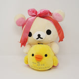 2006 Korilakkuma and Kiiroitori 3rd Anniversary Theme Plush (Medium)