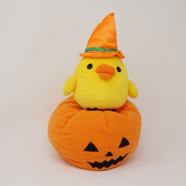 Big Halloween Kiiroitori with Pumpkin (Prize Toy) Plush