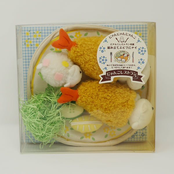 Nyannyannyanko Restaurant Shrimp Plate Plush Playset